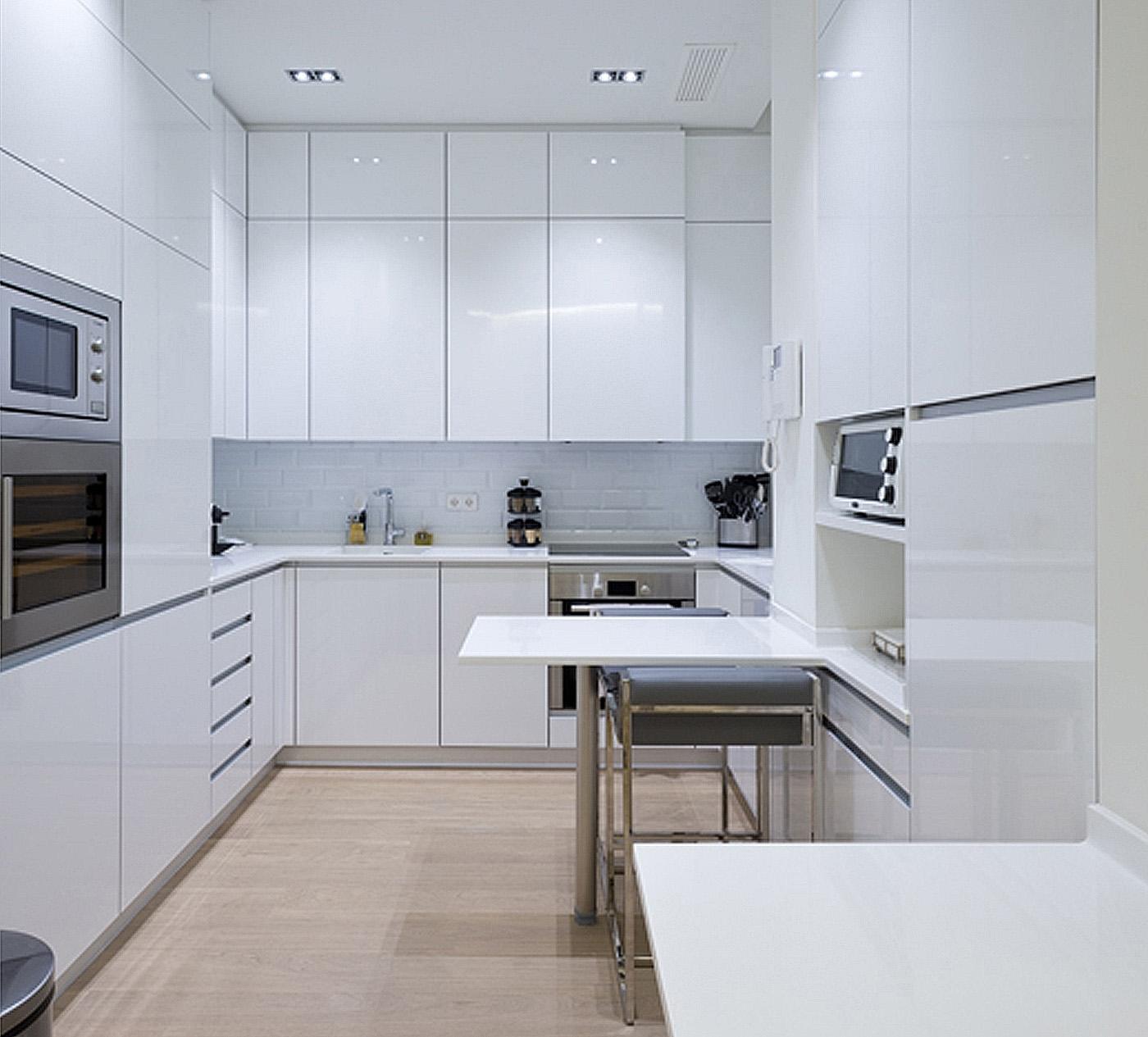Imagenes de cocinas blancas fuente pinterest imagenes de for Decoracion cocinas blancas